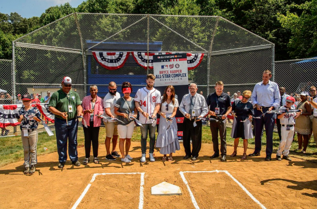 Bryce Harper Field Dedication