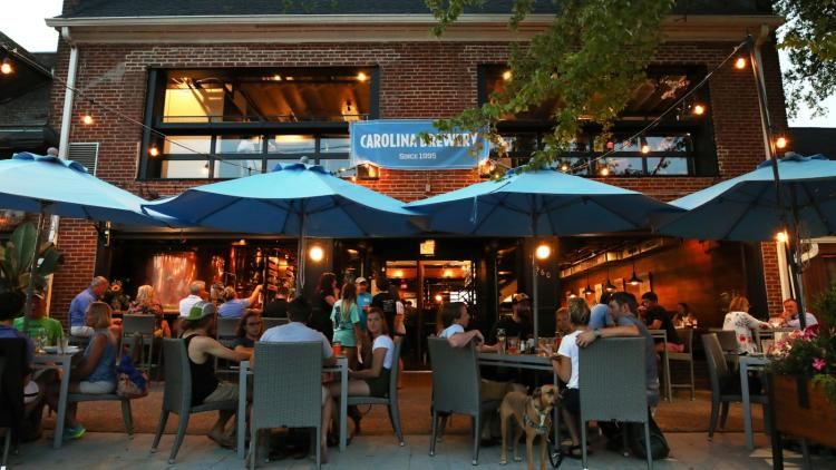 Summertime Outdoor Dining In Chapel Hill Orange County