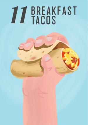 12 Days in Austin, Breakfast Tacos