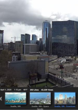 Downtown Seattle Cams