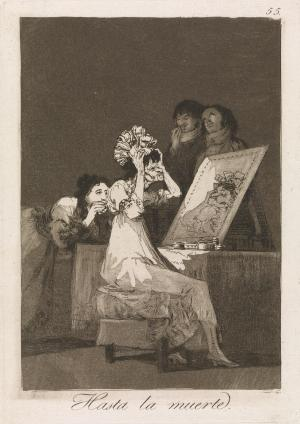 Francisco Goya - Hasta la muerte