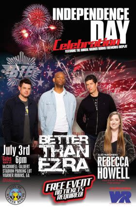 Warner Robins Independence Day Celebration Concert
