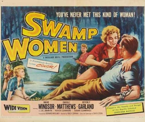 Swamp Women, film, 1956