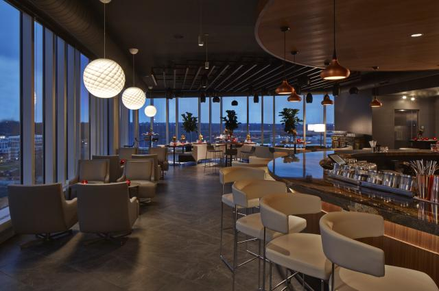 VASO Rooftop Lounge Interior