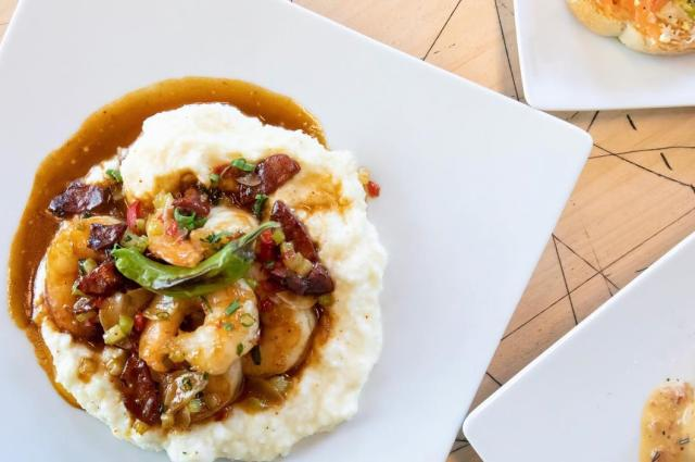 Hen Quarter Shrimp and Grits