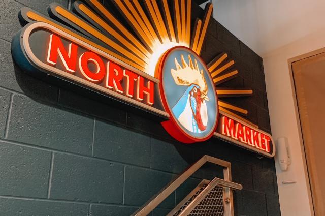 North Market Sign