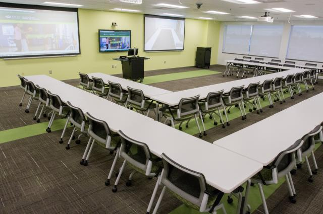 OU Dublin Integrated Education Center Meeting Set Up