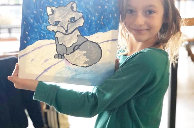 Roxy the Fox Canvas