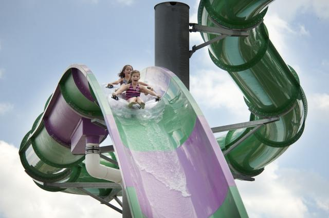 Zoombezi Bay Slide