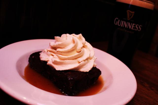 Irish Car Bomb Brownie