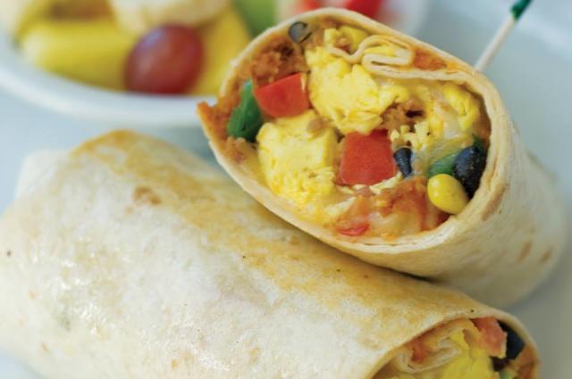 Sunny Street Breakfast Burrito