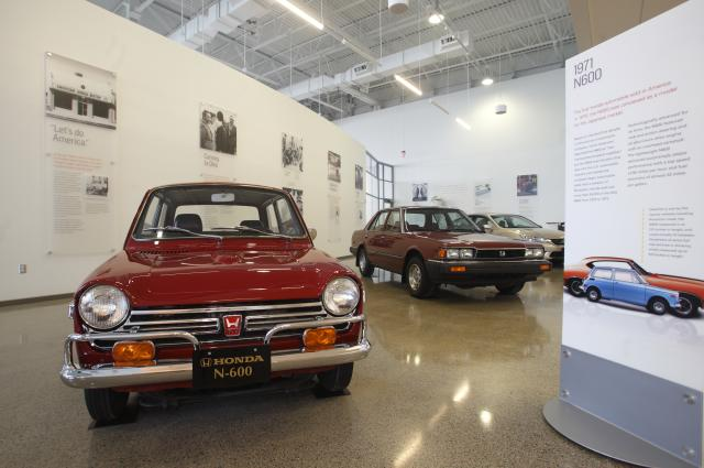 Honda Heritage Center Exhibit