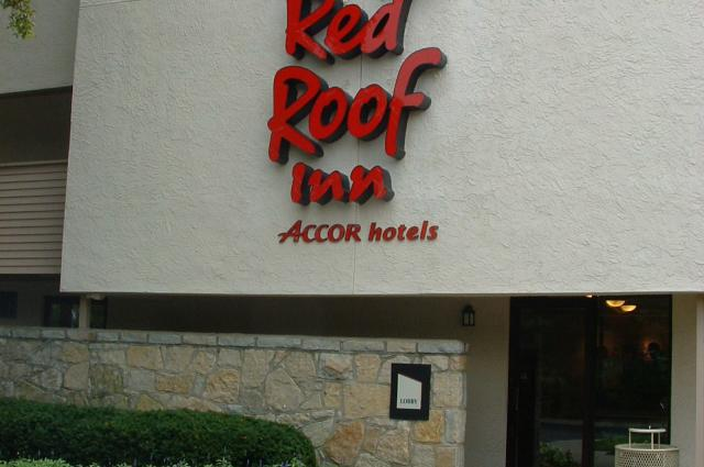 Red Roof Exterior