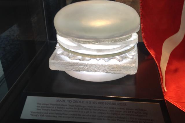 Wendy's Flagship Store Crystal Hamburger
