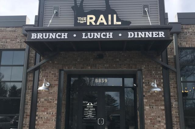 The Rail Burger Exterior