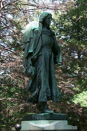 Mary Jemison statue