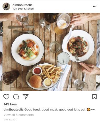 101 BK Food UGC