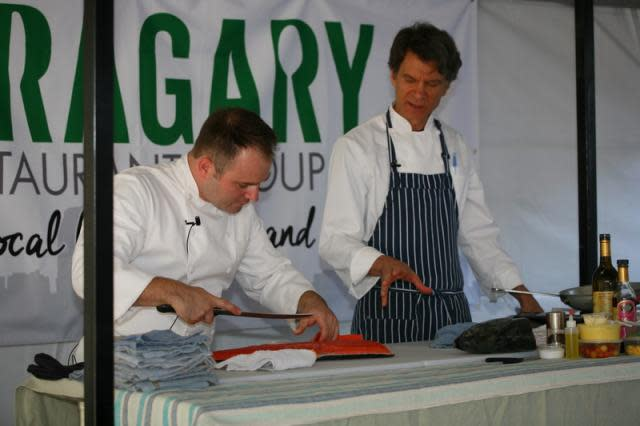 Chef Demonstration at Farm-to-Fork Festival in Sacramento, America's Farm-to-Fork Capital