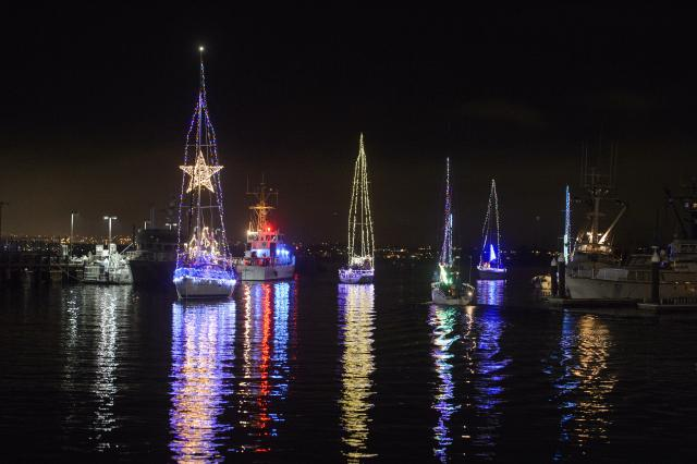 Brighten the Harbor Boat Parade