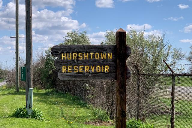 Hurshtown Reservoir Sign