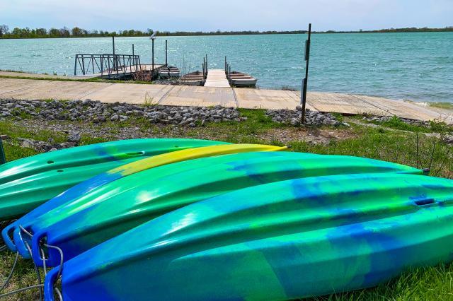 Hurshtown Reservoir Kayaks