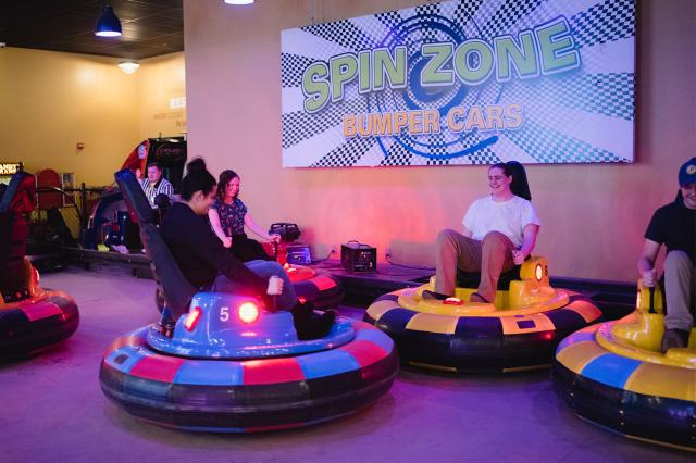Spin Zone Carts at Georgetown Entertainment