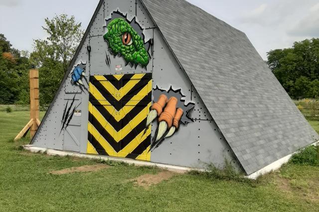 Dino Dog House