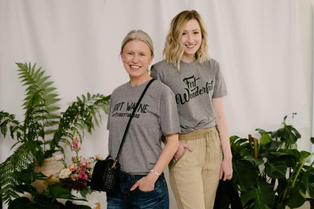 Two Ladies Grey Shirt