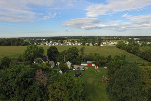 Aerial of Farm