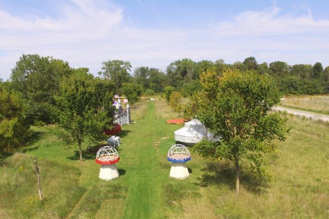 Fun Farm Aerial