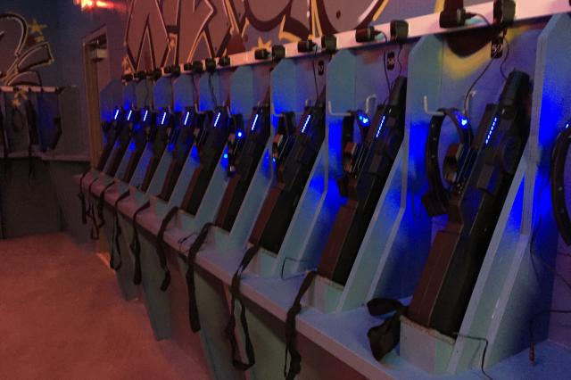 Laser Tag Armory