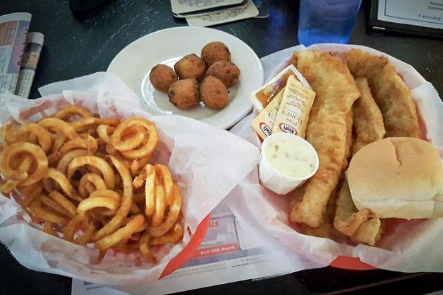 Fish and Curly Fries