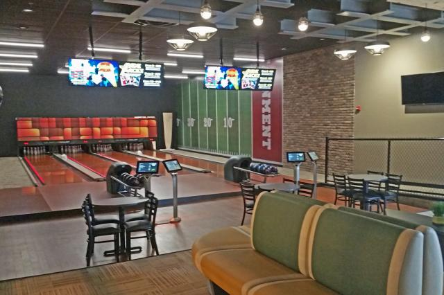 Private Bowling room
