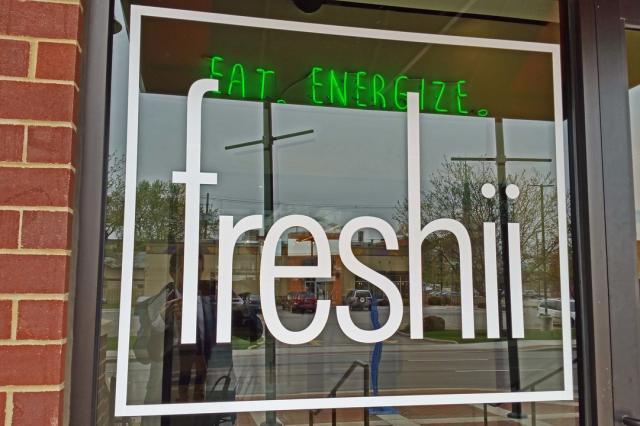 freshii sign