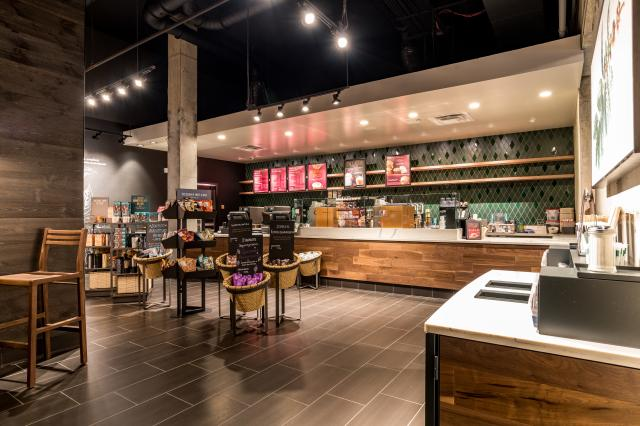 Starbucks at Features