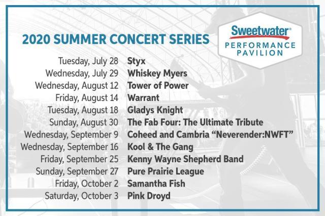Pavilion 2020 Concerts