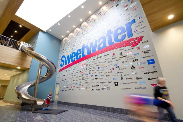 Sweetwater lobby