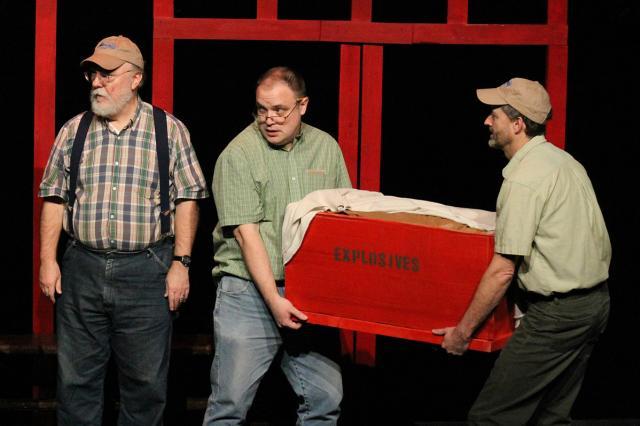 Three Men box