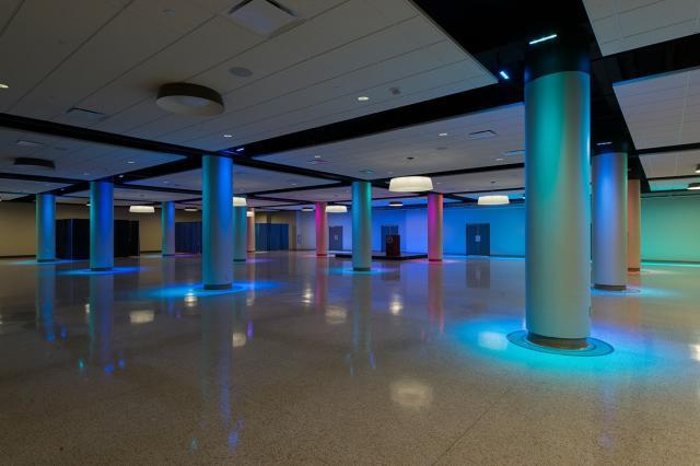 University of Saint Francis Robert Goldstine Performing Arts Center Ballroom