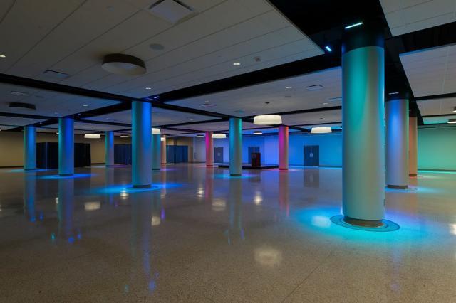 Ballroom of Goldstine Performing Arts Center