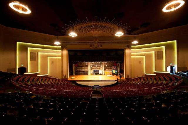 Auditorium of Goldstine Performing Arts Center