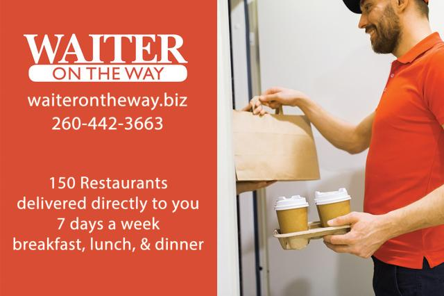 Waiter on the way Delivery