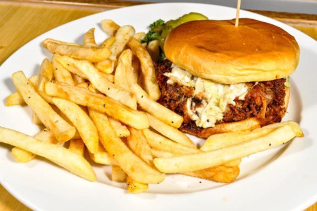 Coconutz BBQ Sandwich