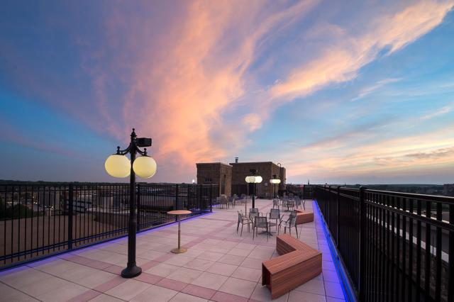 Embassy Theatre Rooftop Patio