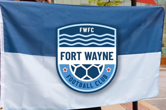 Fort Wayne FC flag