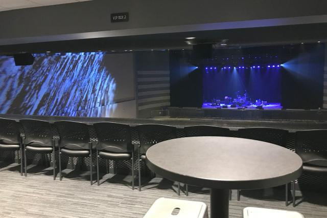 Clyde Theatre VIP section