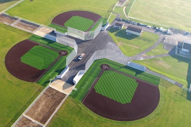 ASH Centre Baseball Aerial