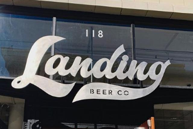 Landing Beer Company Entrance