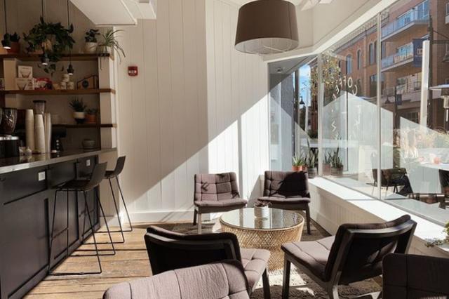 Utopian Coffee Dining Room