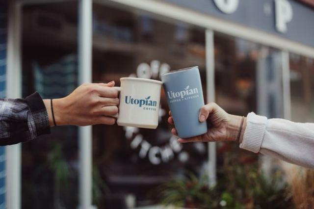 Utopian Coffee Cheers
